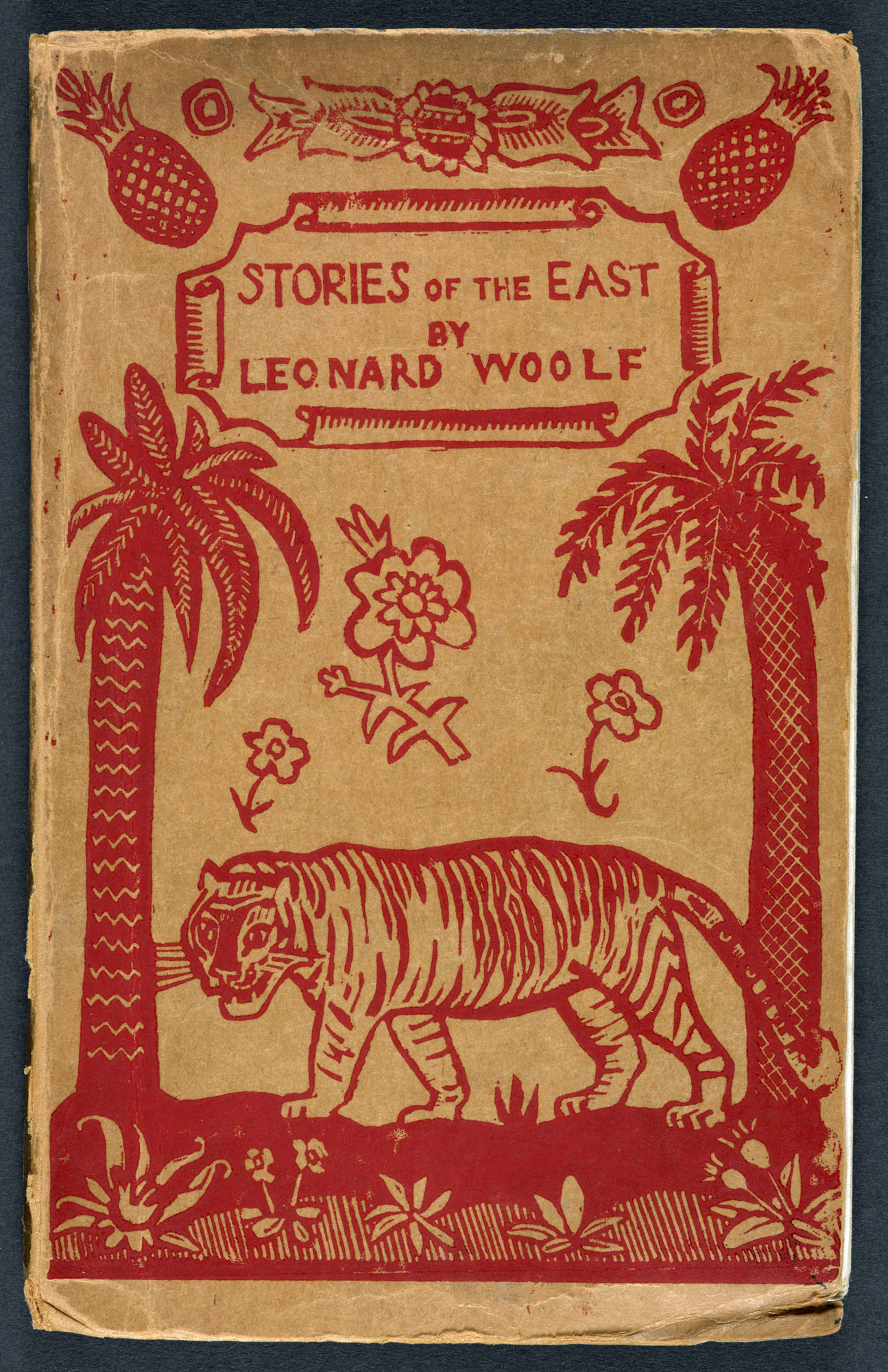 Stories of the East by Leonard Woolf, with design by Dora Carrington