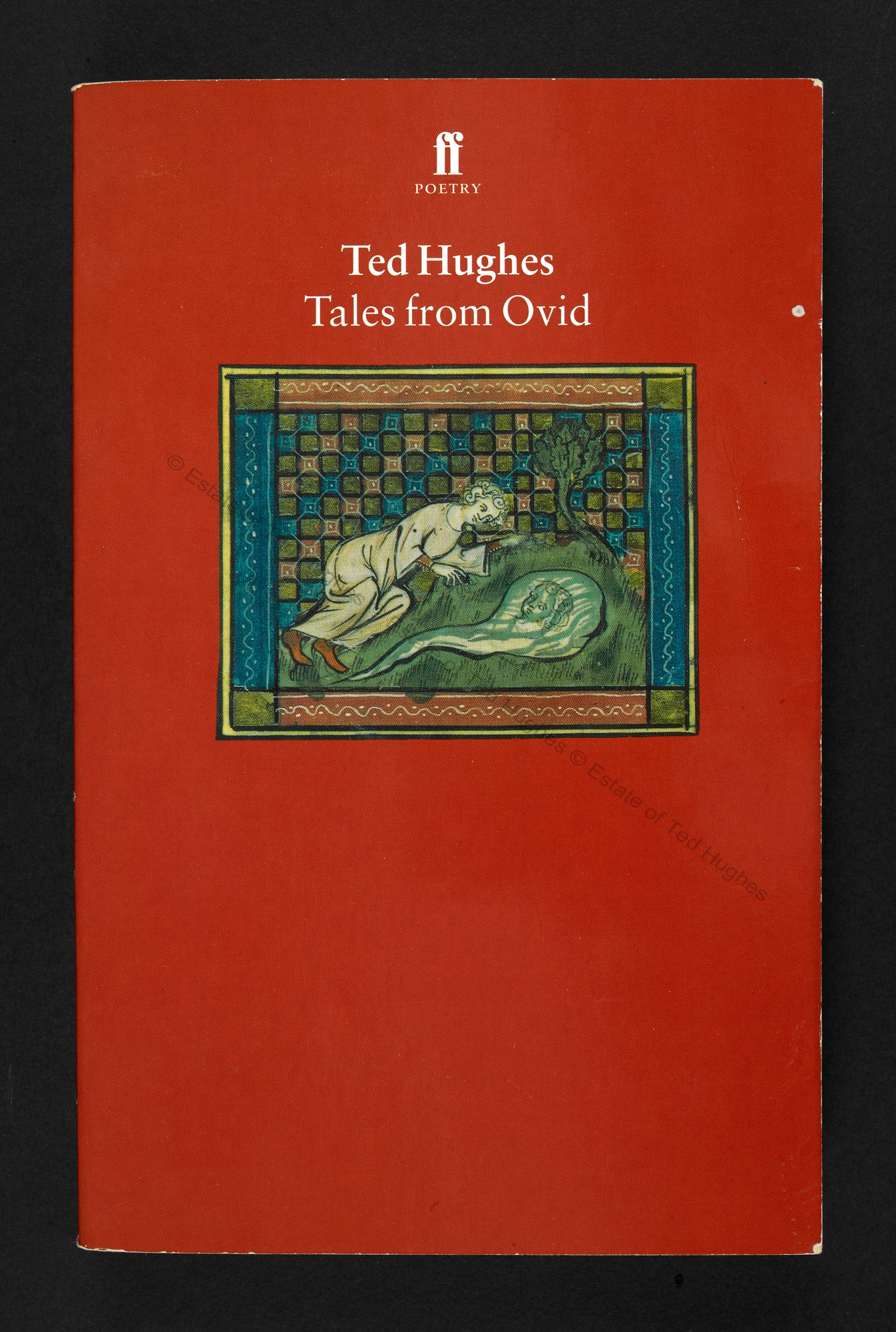 Tales from Ovid by Ted Hughes, with some autograph corrections