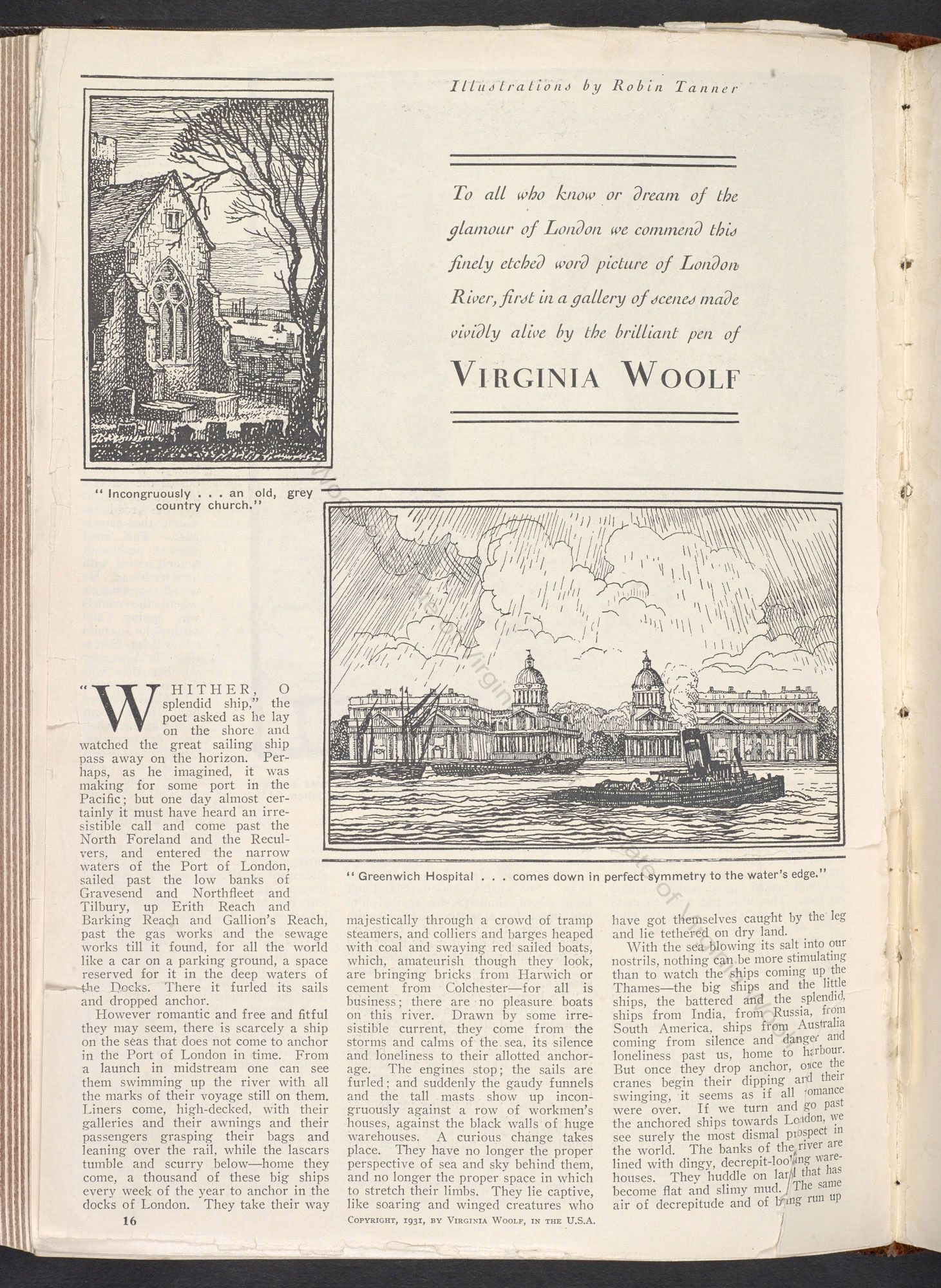 The London Scene Essays By Virginia Woolf From Good Housekeeping  The London Scene Essays By Virginia Woolf From Good Housekeeping Magazine   The British Library Writing Service C also Topics For A Proposal Essay  Online Will Writing Service Reviews
