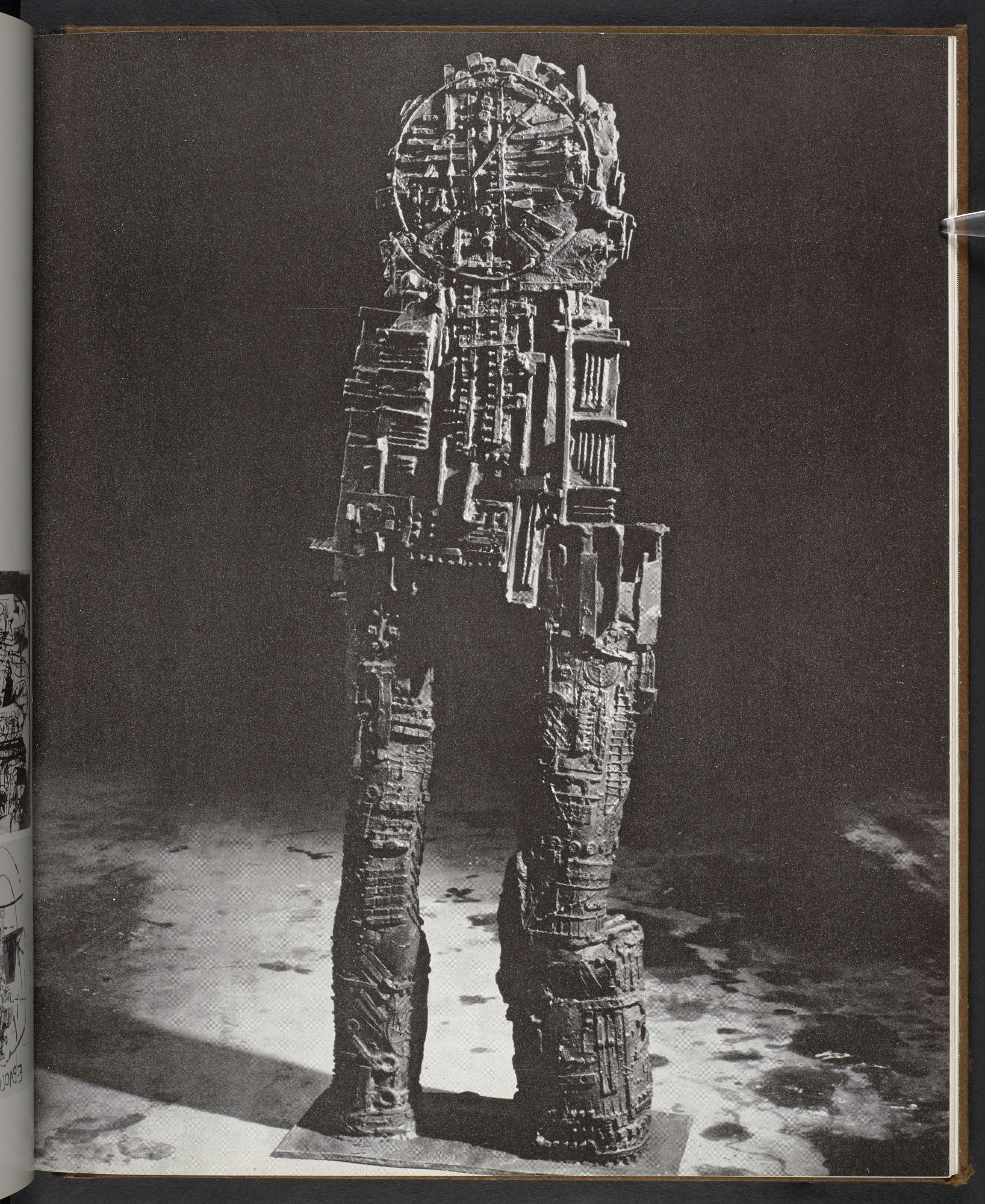 The Metallization of a Dream, works by Eduardo Paolozzi