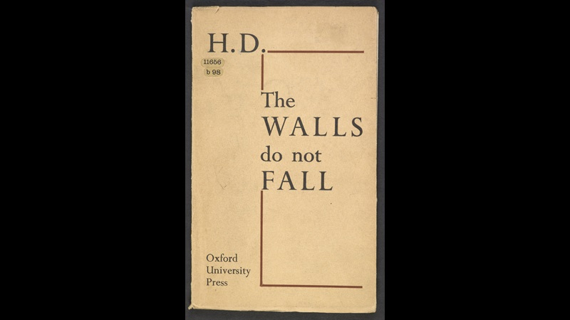 The Walls Do Not Fall by H.D