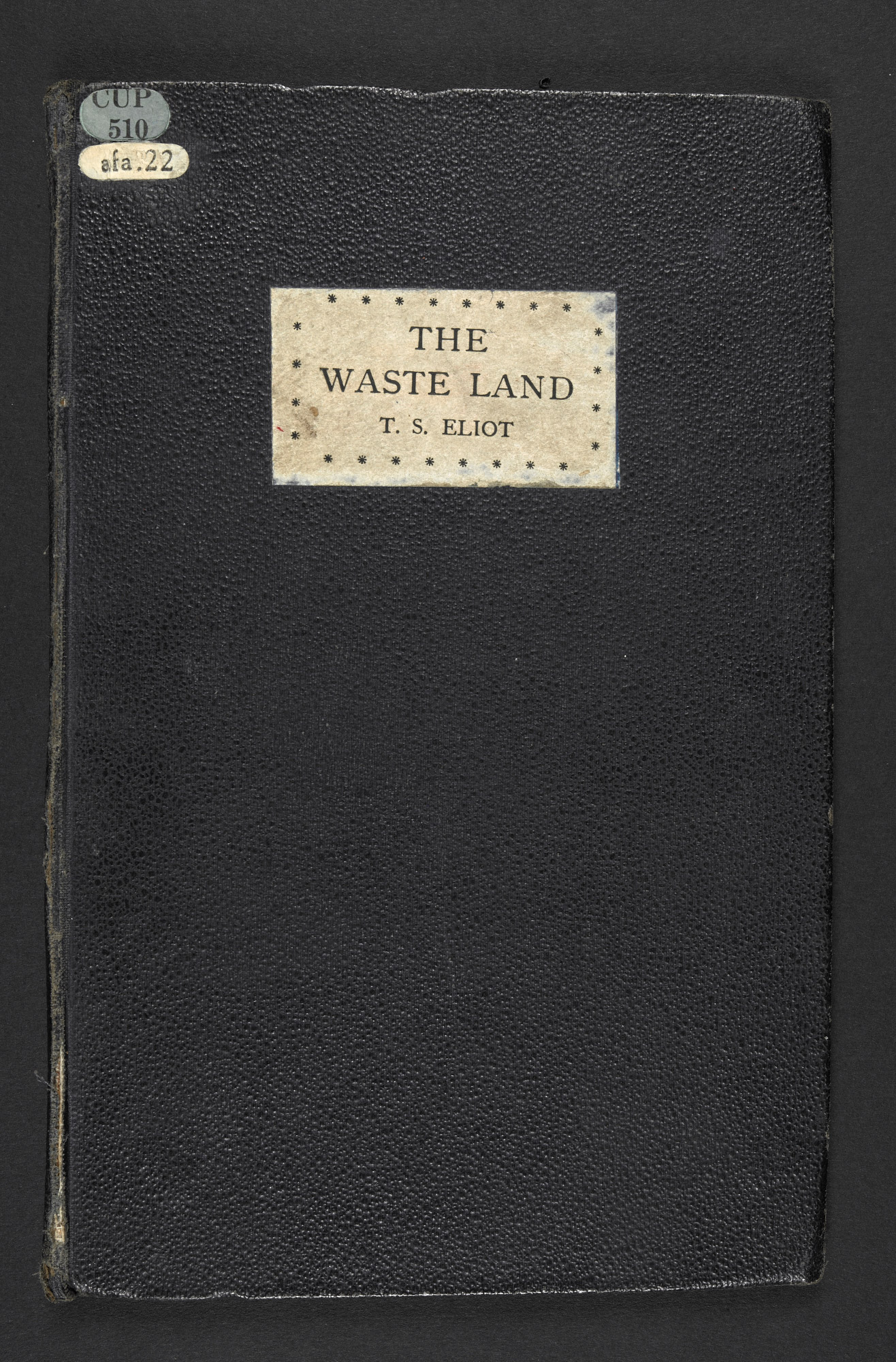 The Waste Land by T S Eliot, Hogarth Press edition