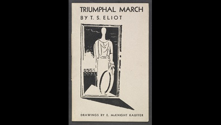 'Triumphal March' by T S Eliot illustrated by E McKnight Kauffer