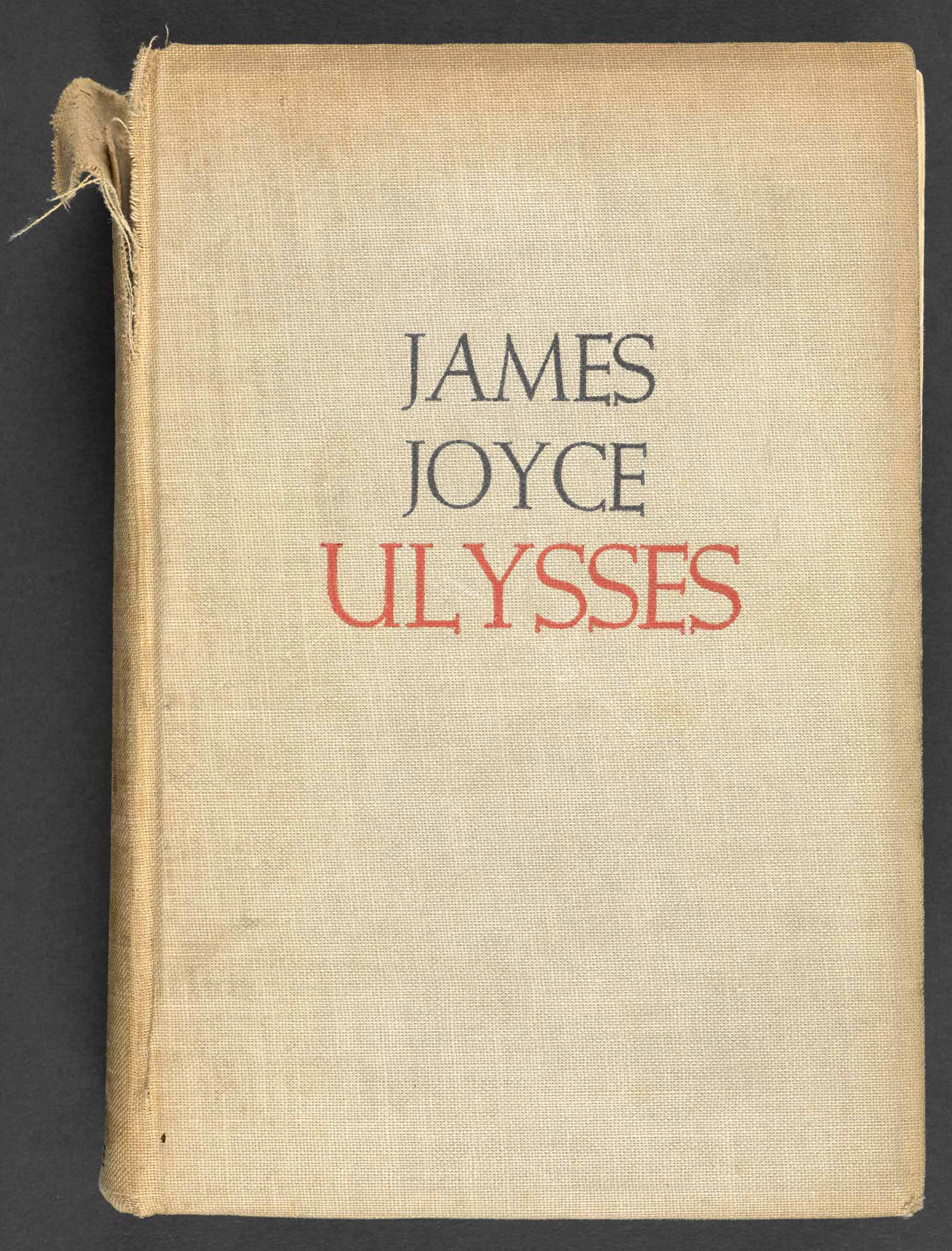 Ulysses by James Joyce, 1934 American edition