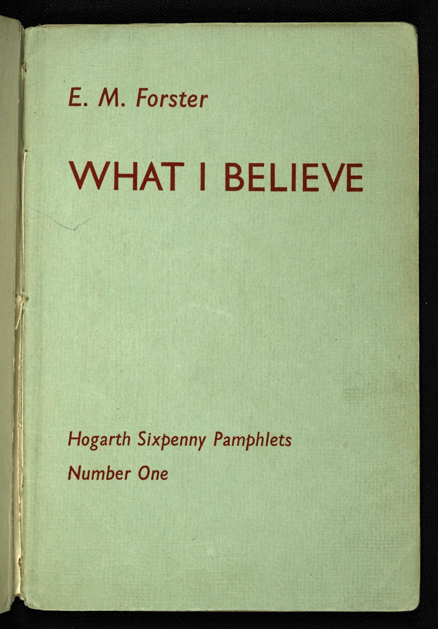 em forster essays