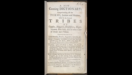 A New Canting Dictionary