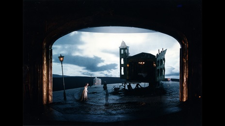 Photographs from the 1992 production of An Inspector Calls