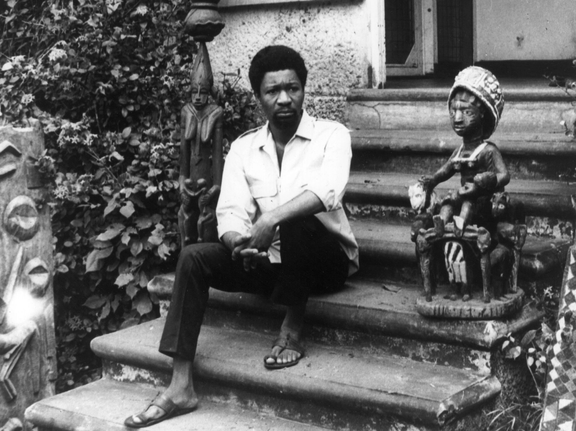 Photograph of Wole Soyinka, 1969