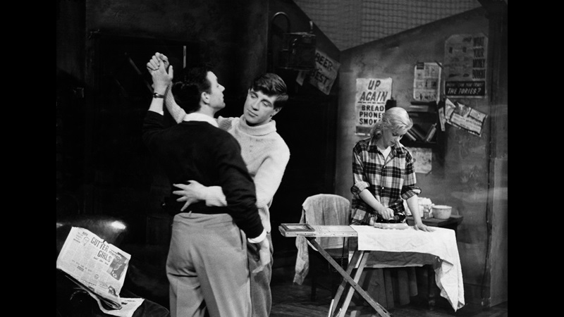 Photographs of the original production of Look Back in Anger by John Osborne