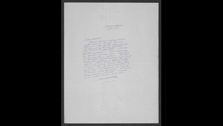 Letters from Samuel Beckett to Harold Pinter