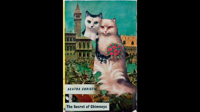 Library book covers defaced by Joe Orton and Kenneth Halliwell