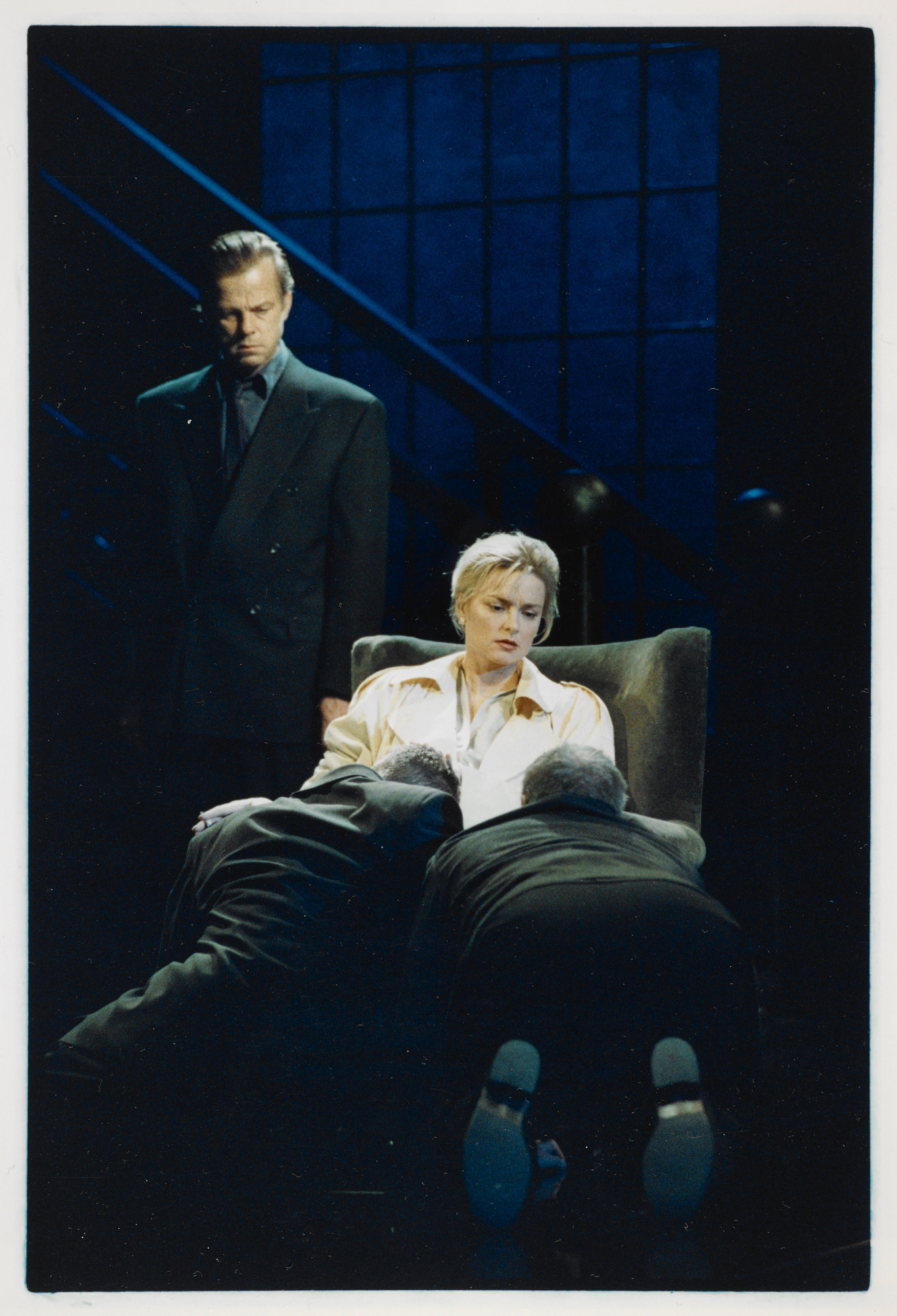 Photograph from a production of The Homecoming in Stockholm, 1993