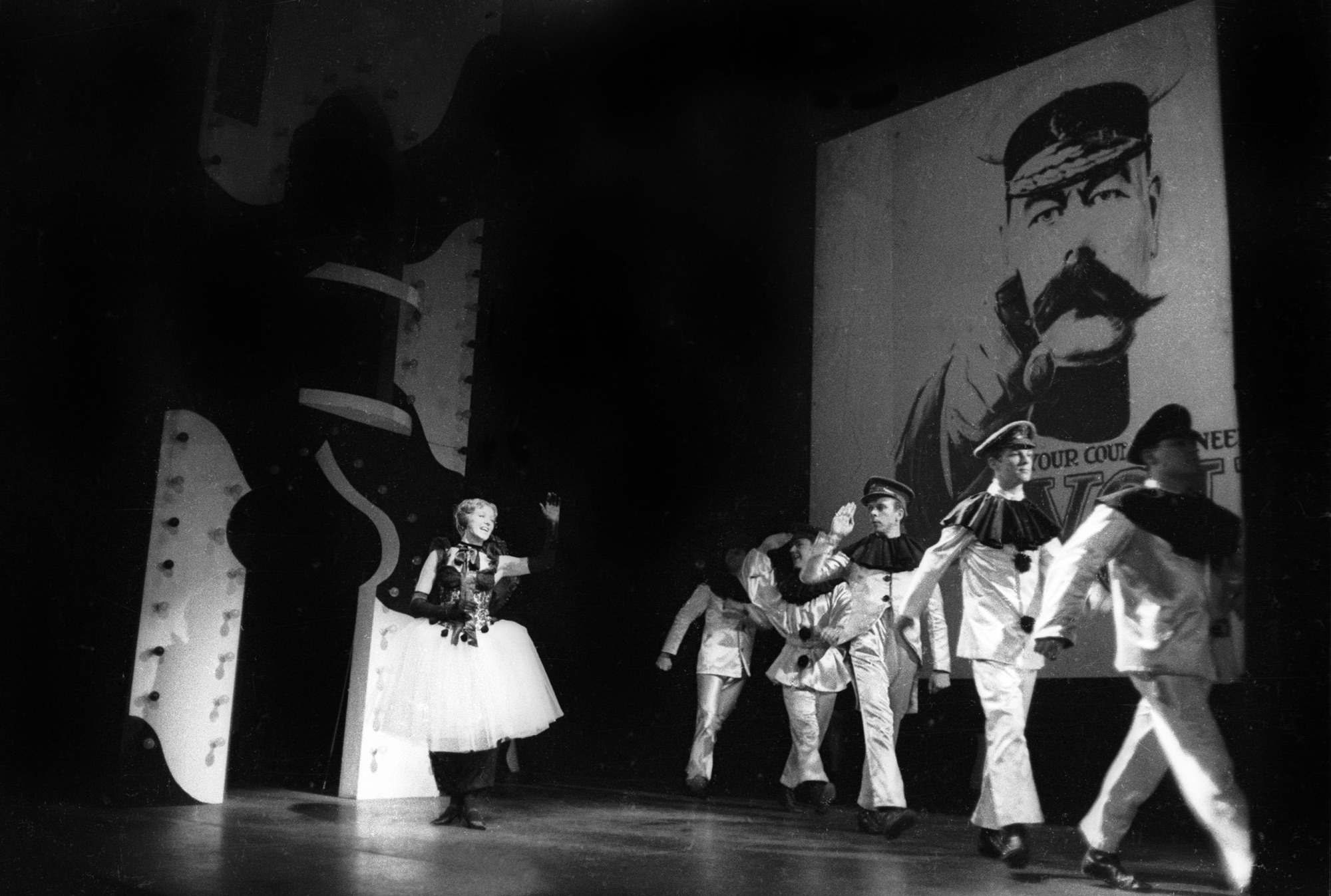 Photographs of Oh What a Lovely War (1963 premiere at Theatre Royal Stratford East)