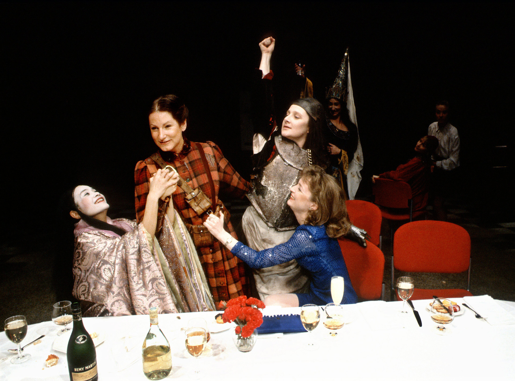 Photographs of Top Girls by Caryl Churchill (1991)