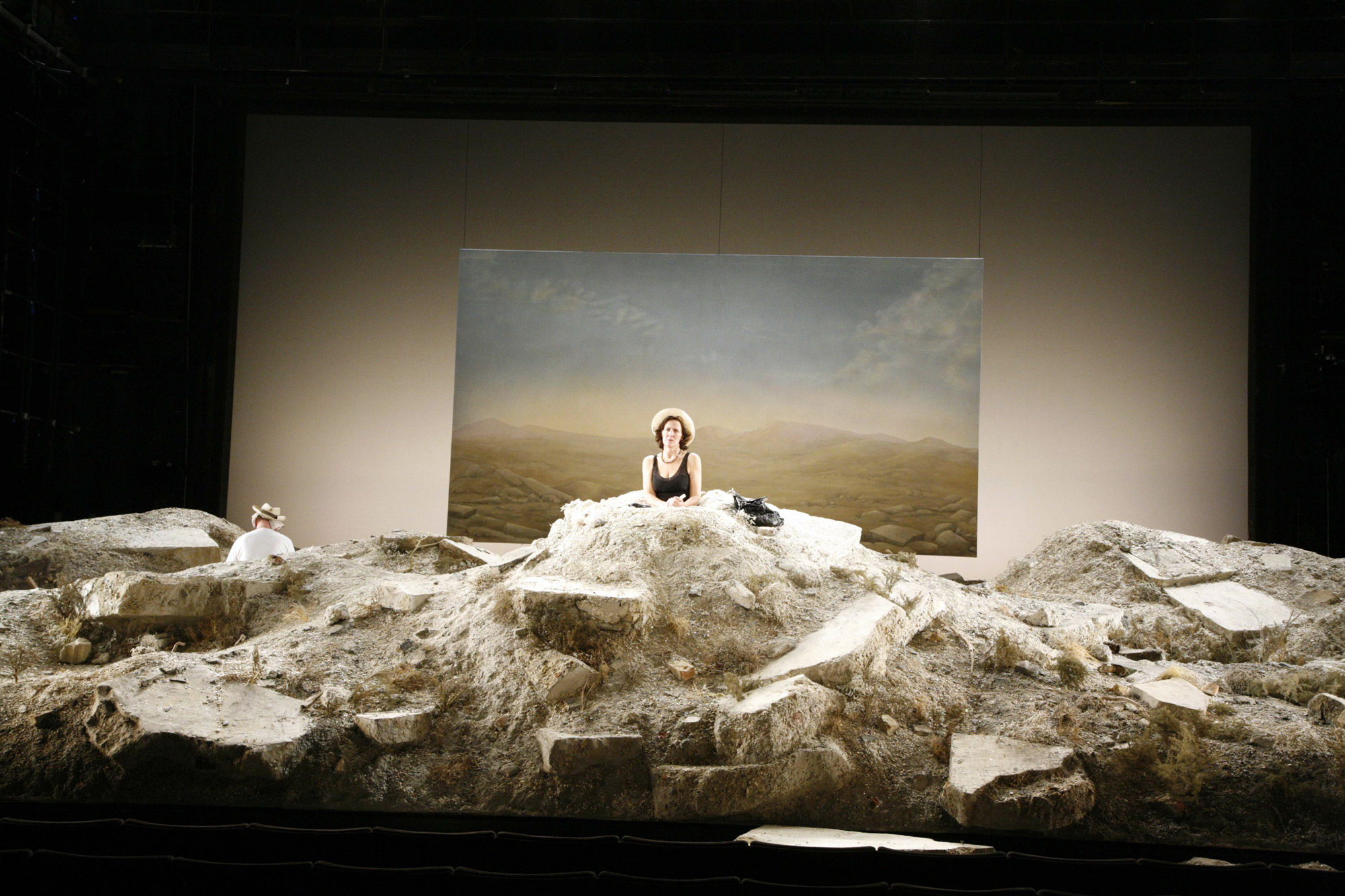 Photographs of Happy Days by Samuel Beckett (2007)