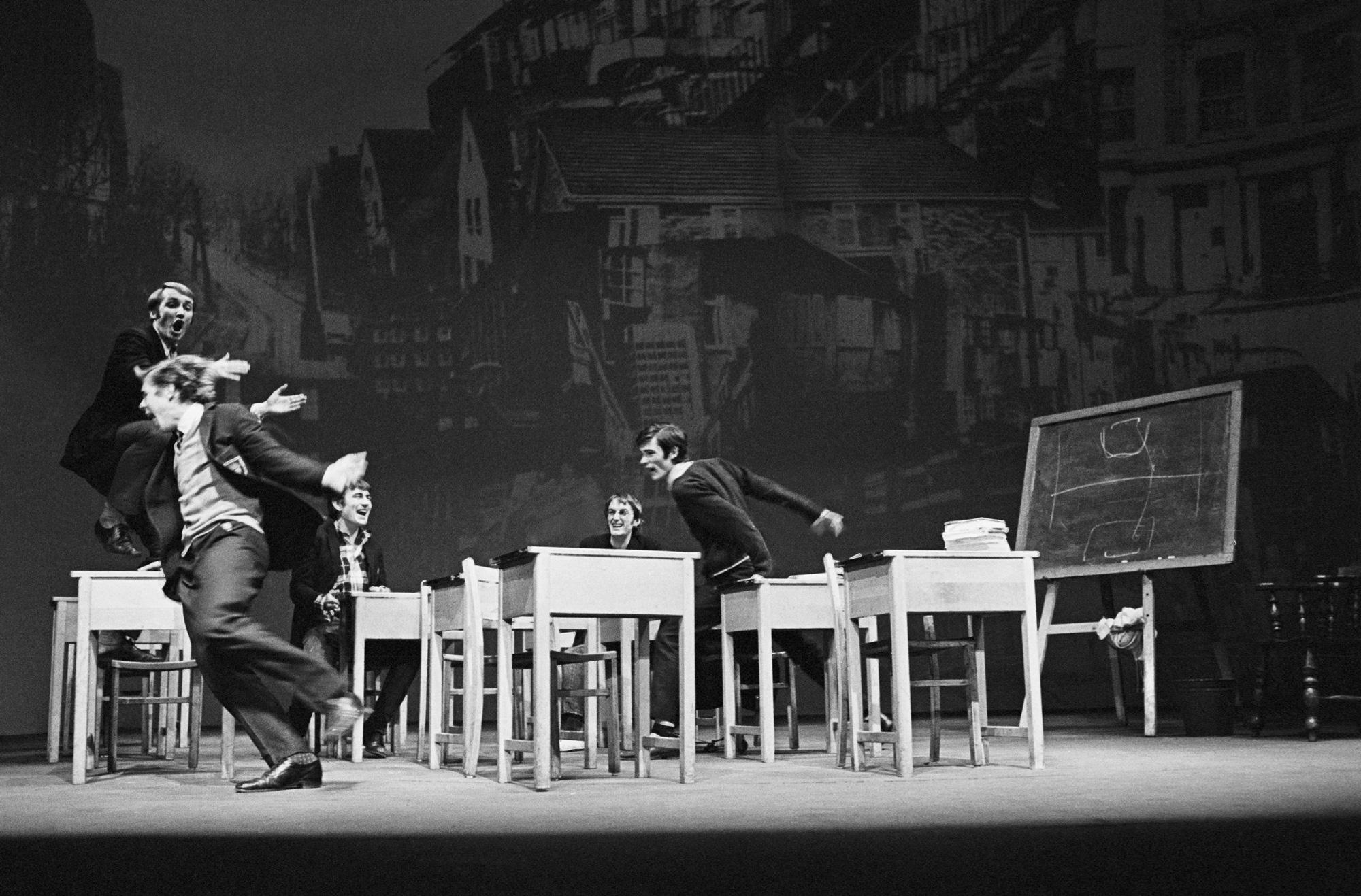 Photograph of Skyvers by Barry Reckord (1968 revival at Nottingham Playhouse)