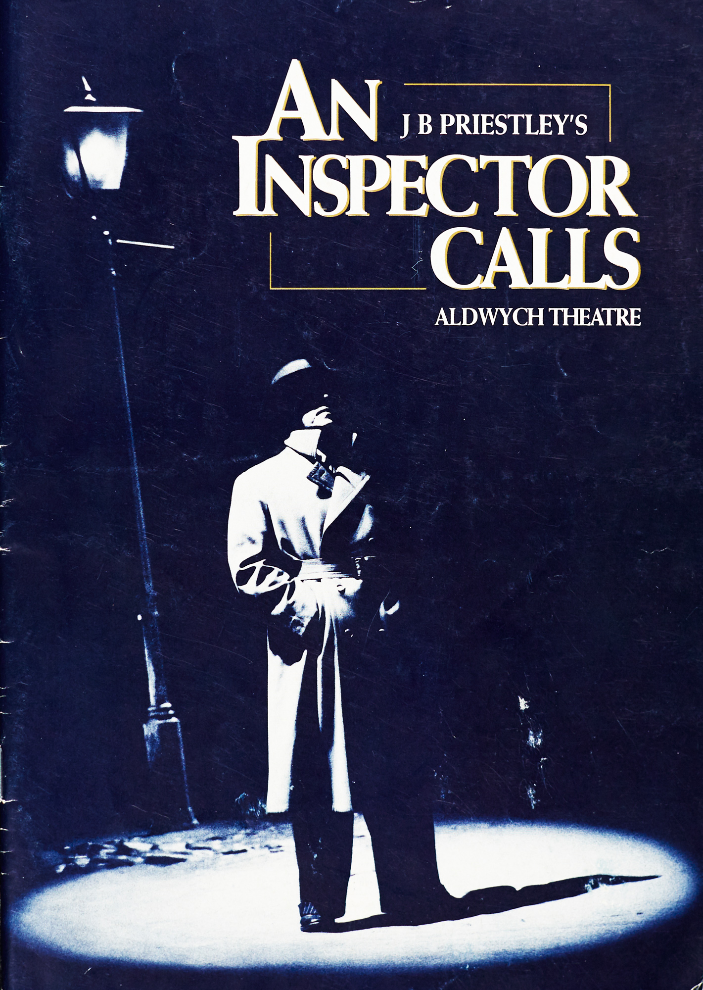 Programme for An Inspector Calls, together with a review - The ...