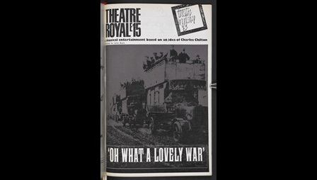 Programme for Oh What a Lovely War
