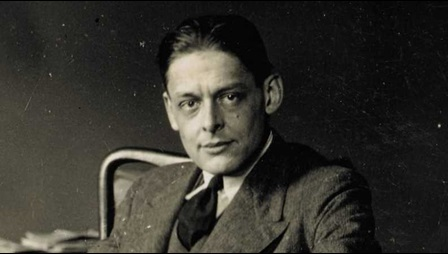 T S Eliot by Lady Ottoline Morrell