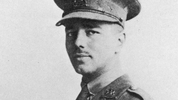 Wilfred Owen by unknown photographer