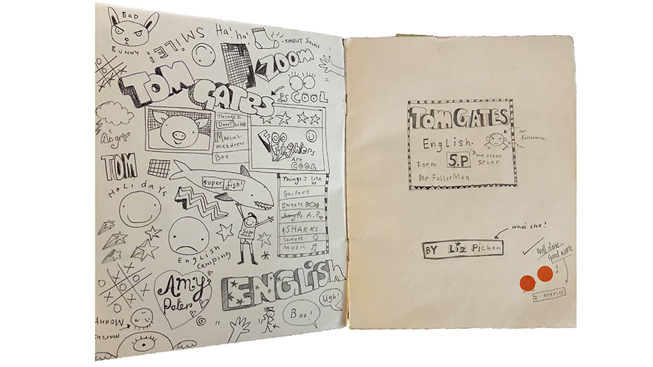Tom Gates sketchbook