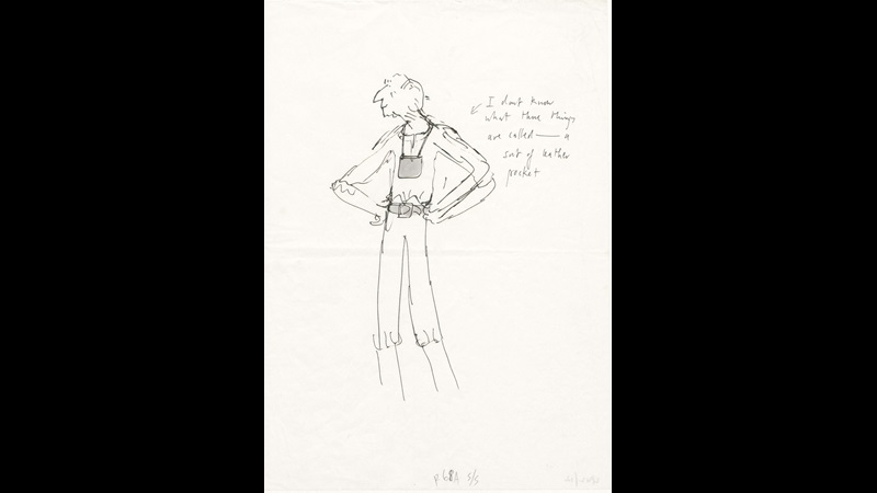 The BFG by Roald Dahl: Quentin Blake's sketches and original artwork