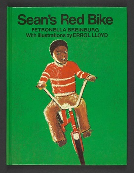 Sean's Red Bike by Petronella Breinburg, illustrated by Errol Lloyd