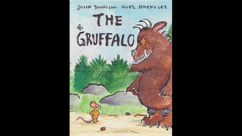 The Gruffalo by Julia Donaldson, illustrated by Axel Scheffler: original artworks