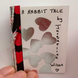 Image of 'A Rabbit Tale', a miniature book made by Jacqueline Wilson