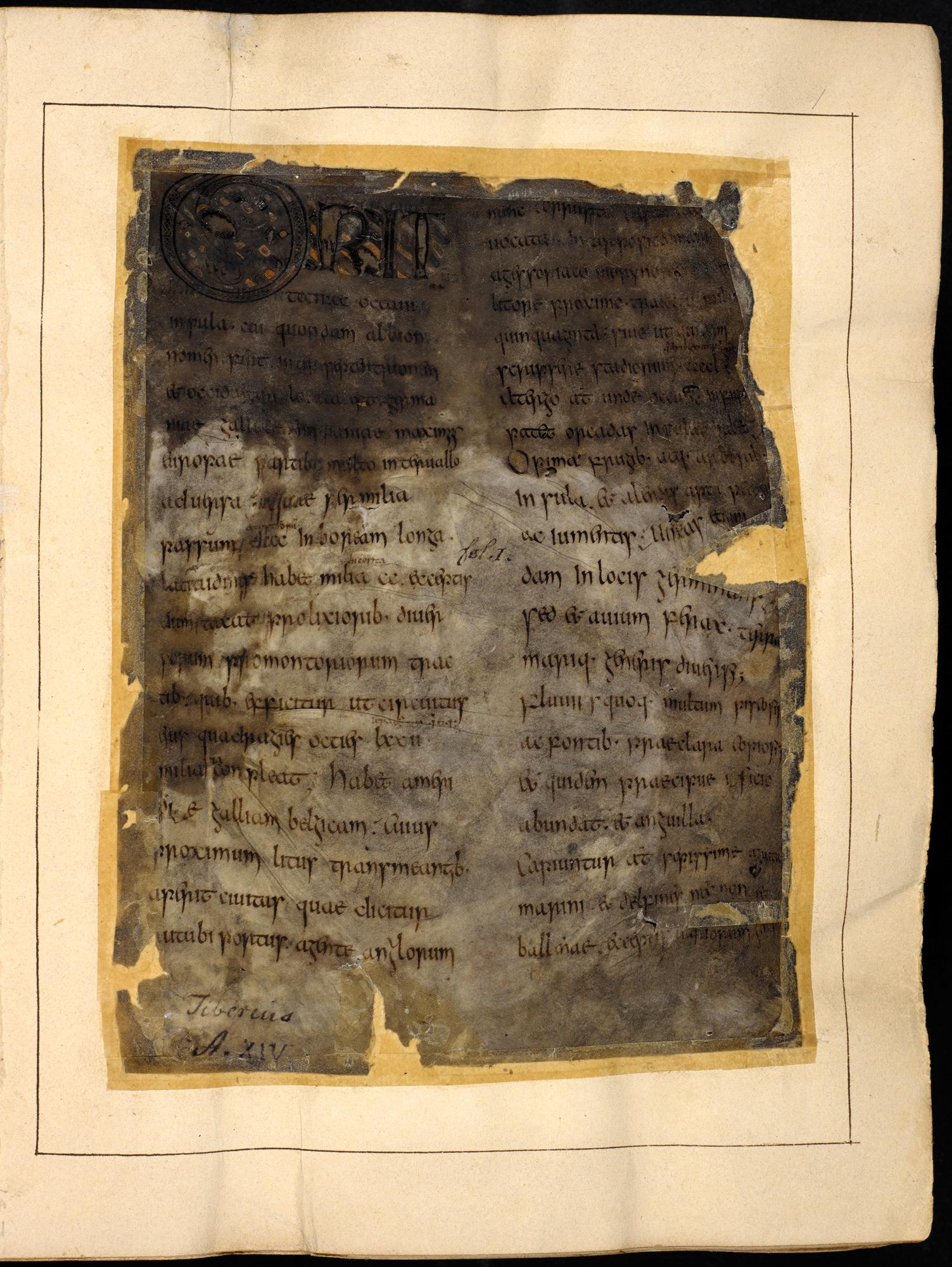 Caedmon's Hymn - The British Library