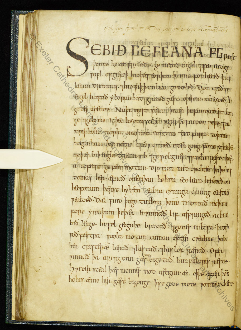 Old English heroic poetry - The British Library
