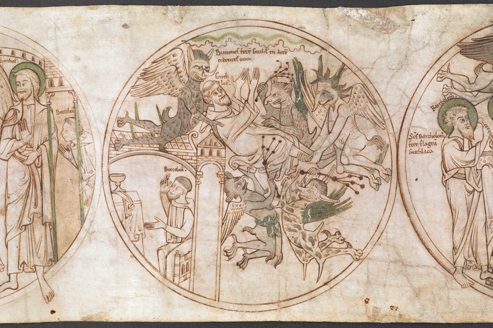Monsters And Heroes In Beowulf The British Library