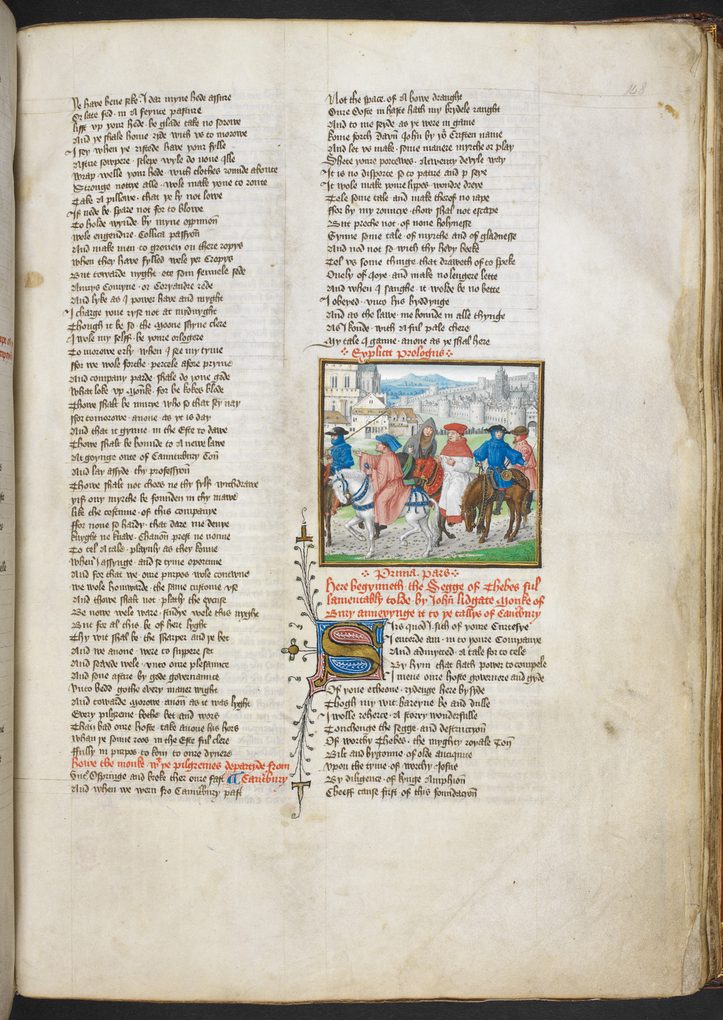 critical appreciation of prologue to the canterbury tales