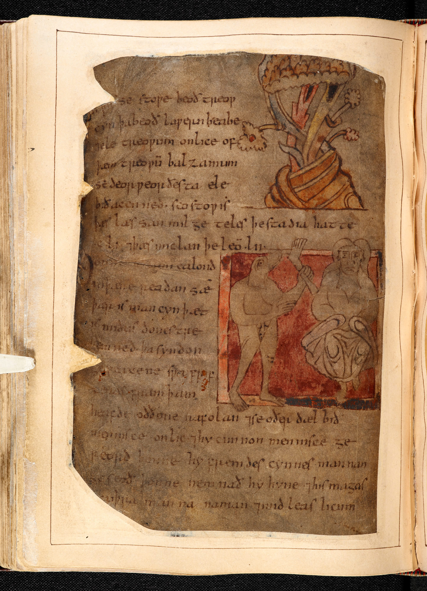 beowulf poem from anglo saxon literature