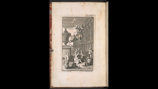 1714 edition of The Rape of the Lock