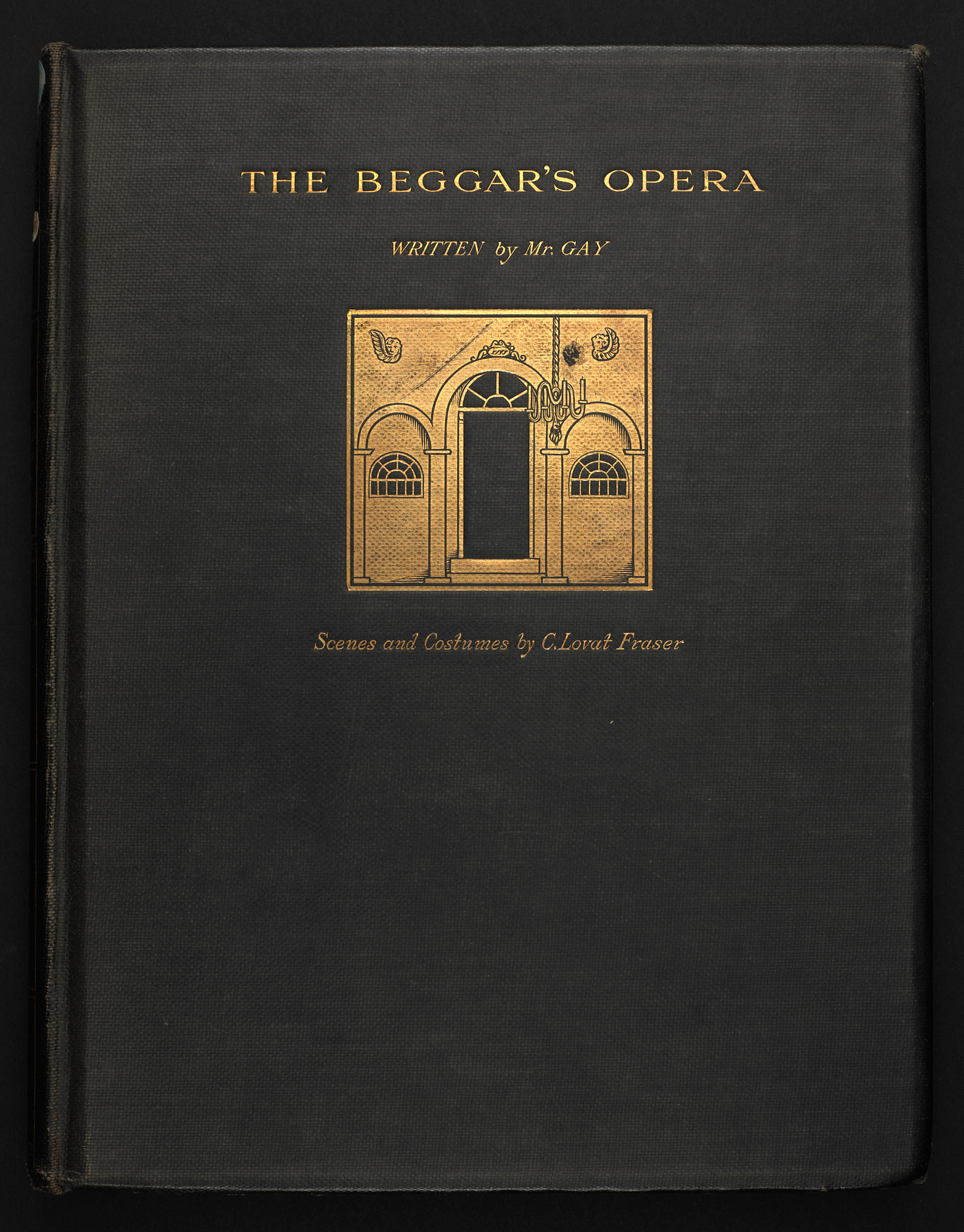 1921 edition of The Beggar's Opera, illustrated by Claud Lovat Fraser