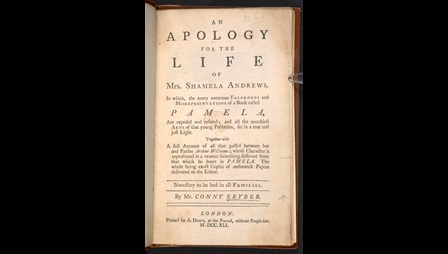 An Apology for the Life of Mrs Shamela Andrews