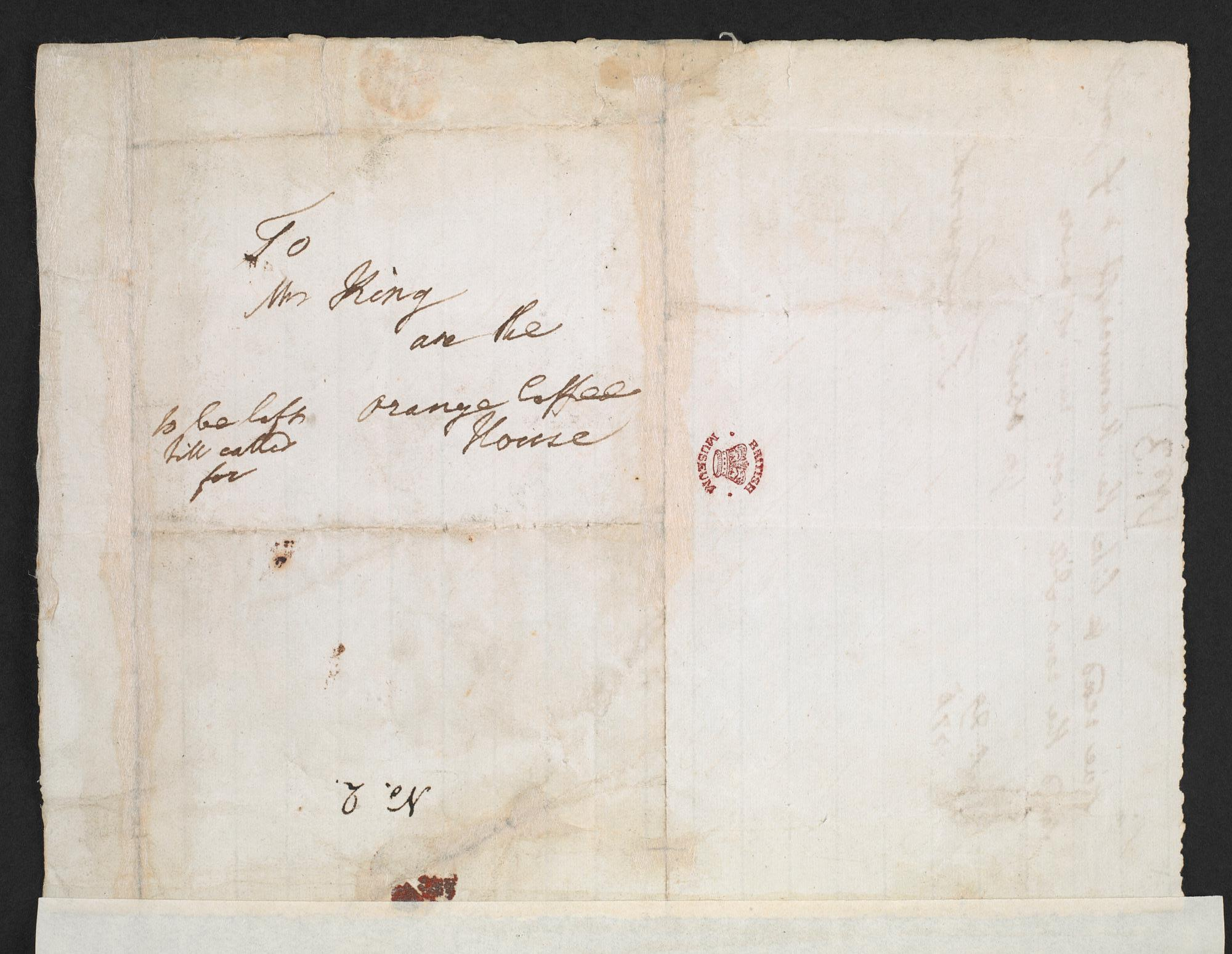 Correspondence between Frances Burney and Thomas Lowndes about Evelina