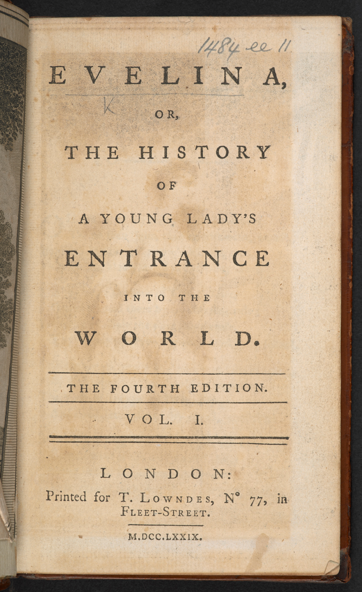 An introduction to Evelina - The British Library