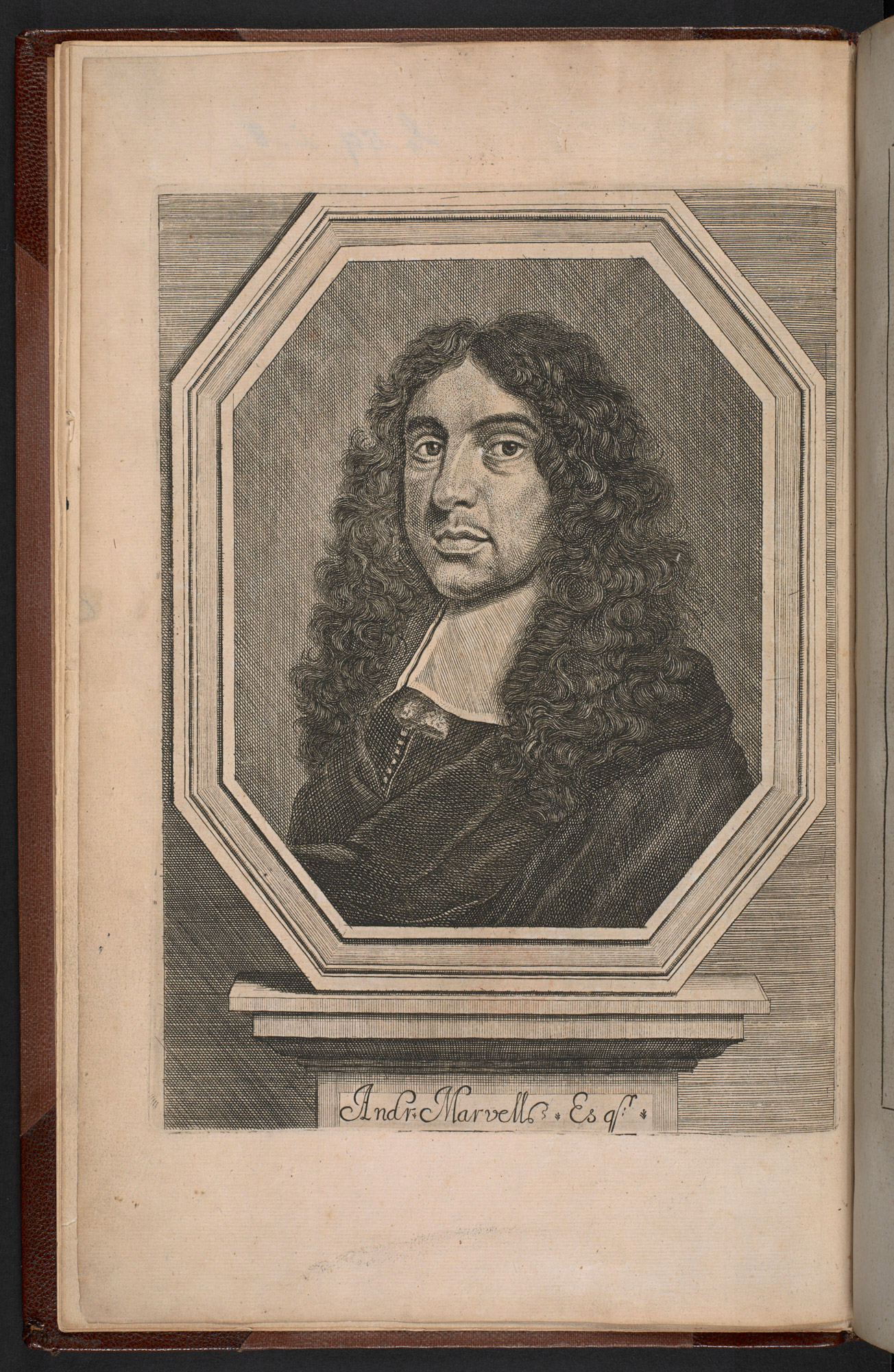 First edition of Andrew Marvell's Poems, 1681