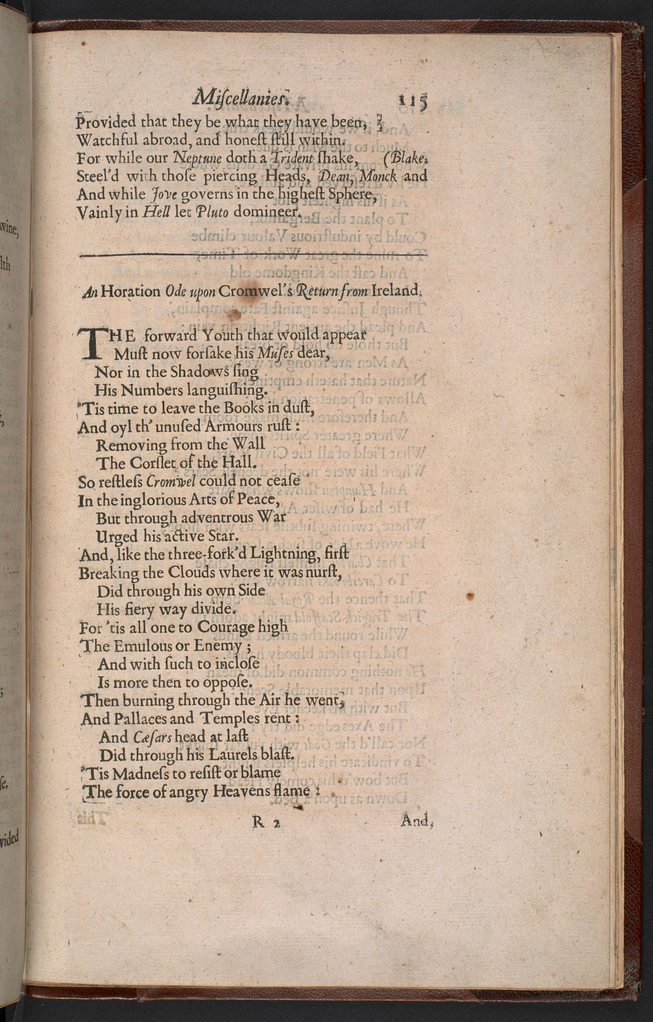 Andrew Marvell and politics - The British Library
