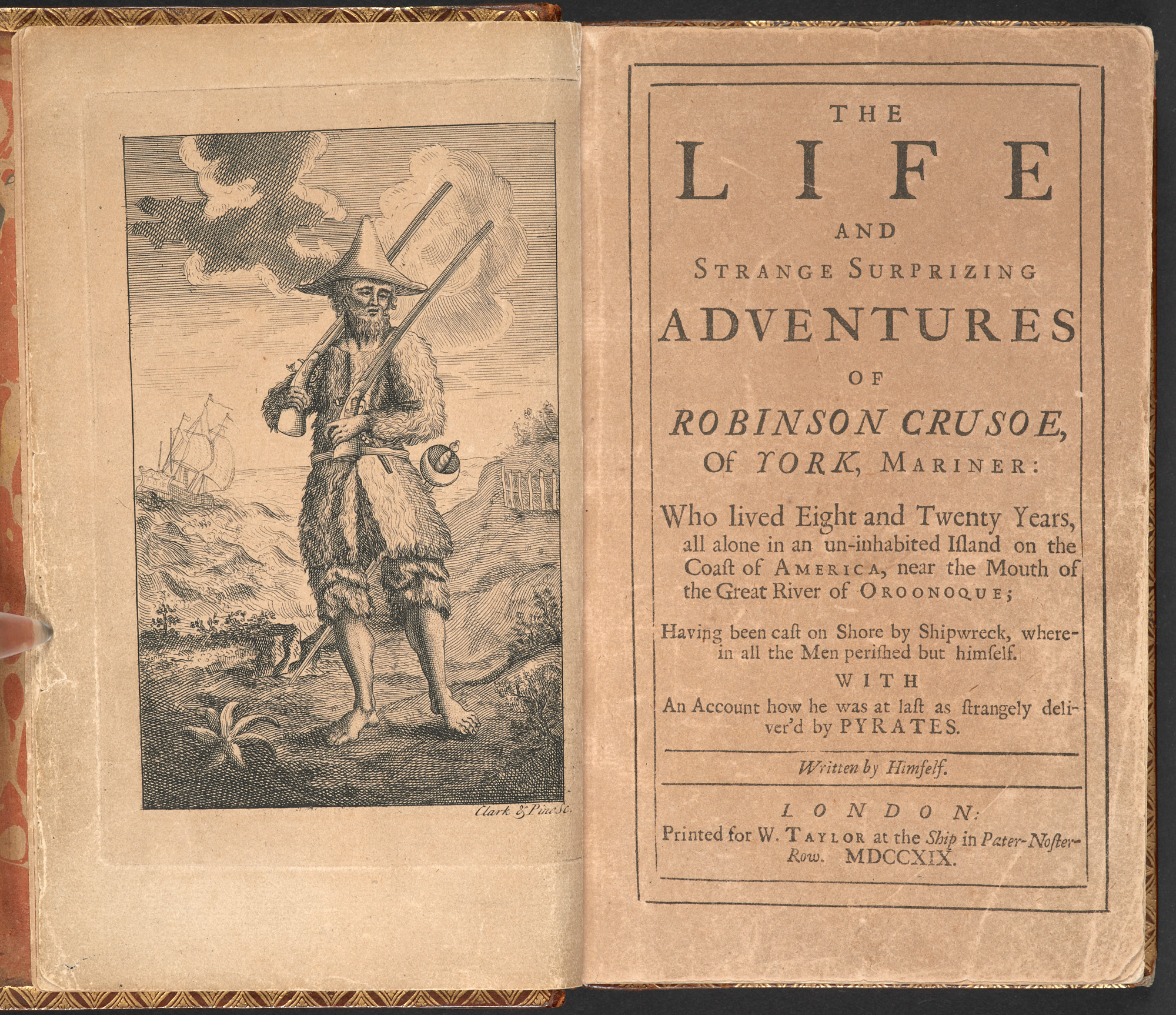The Life and Strange Surprising Adventures of Robinson Crusoe, of York, Mariner