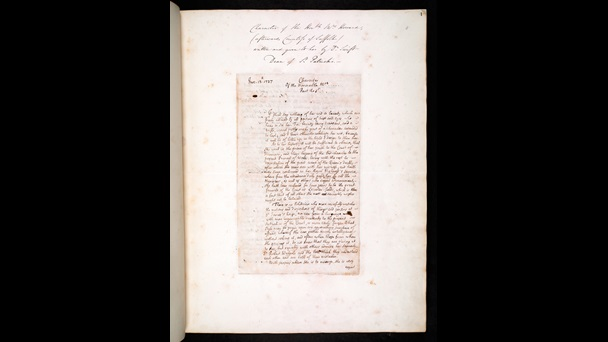 Handwritten letter from Jonathan Swift to Henrietta Howard
