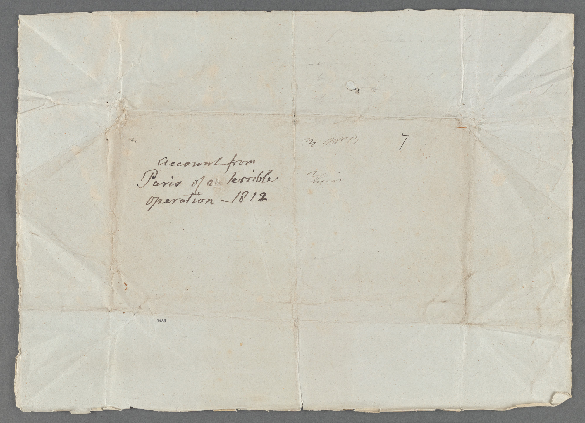 Letter from Frances Burney to her sister Esther about her mastectomy