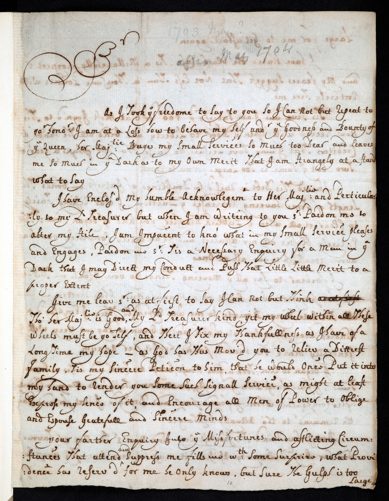 Letters from Daniel Defoe to Robert Harley