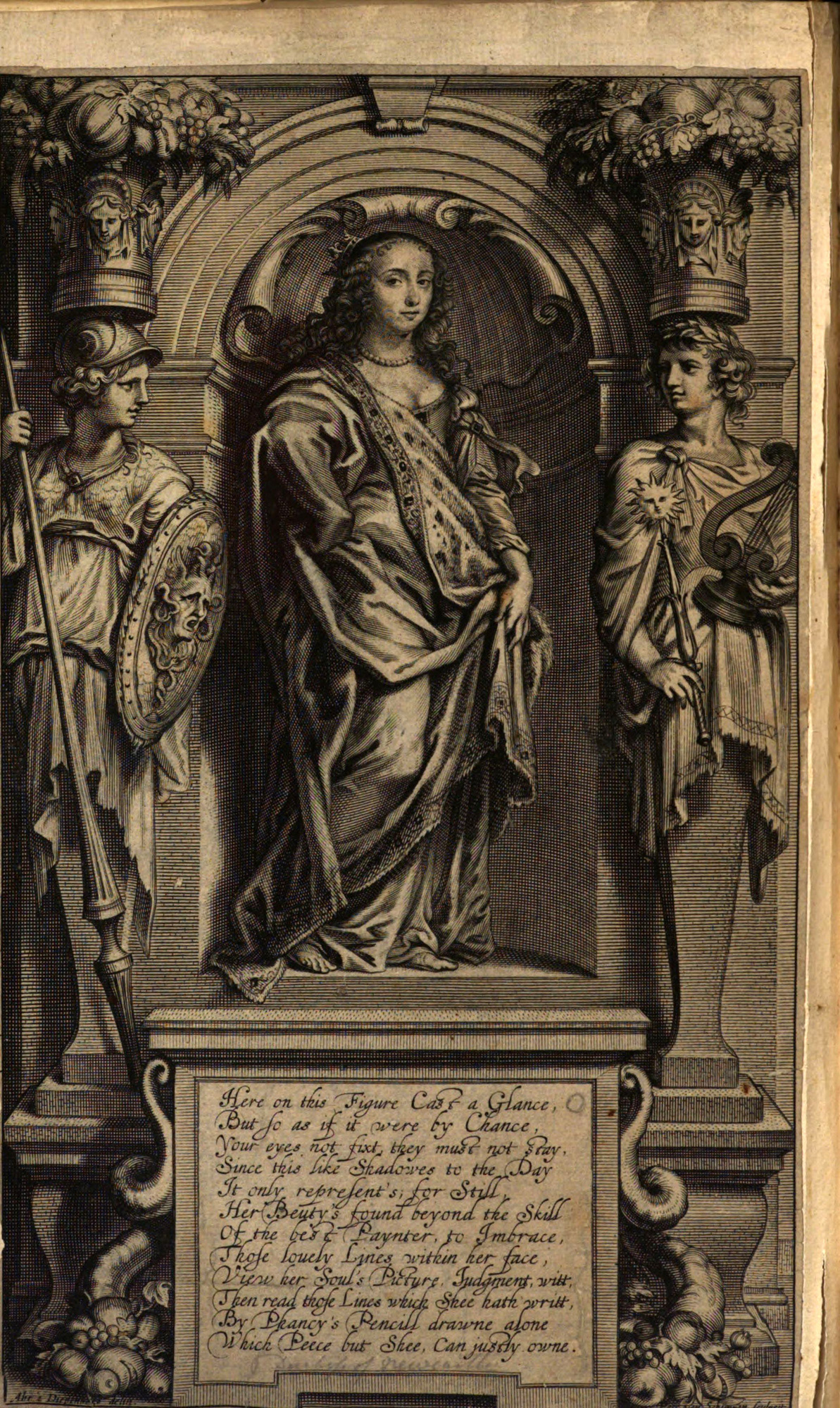 Margaret Cavendish's classical frontispiece