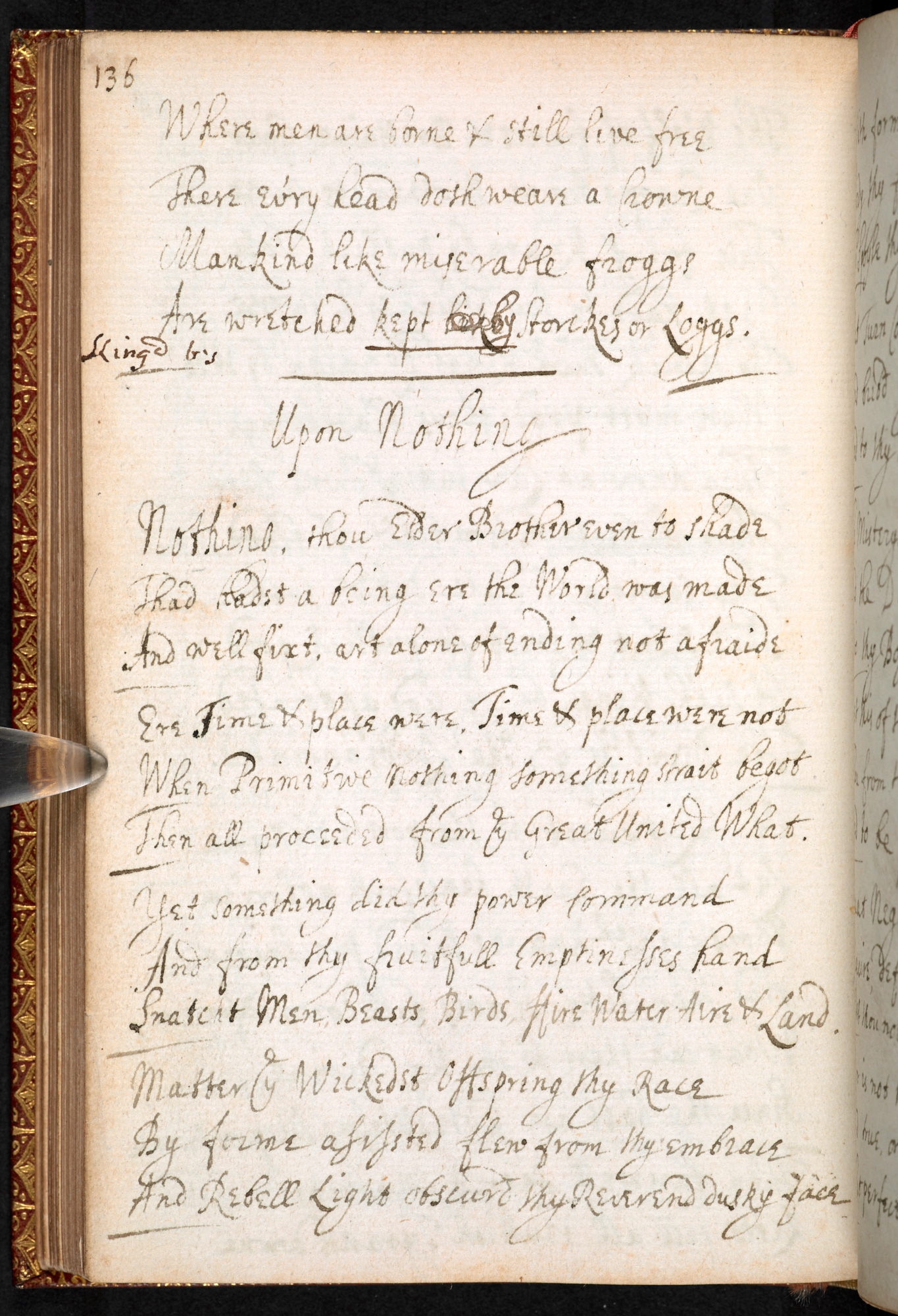 Miscellany of poems by the Earl of Rochester