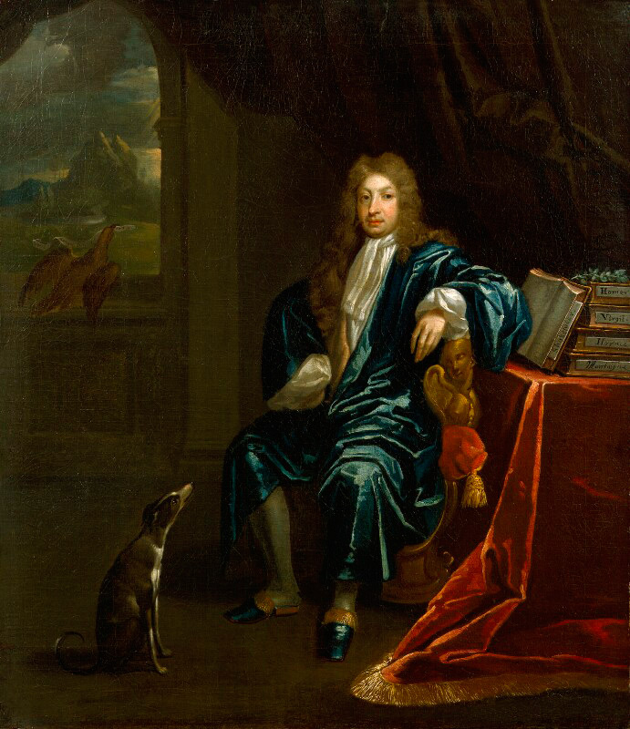 Portrait of John Dryden