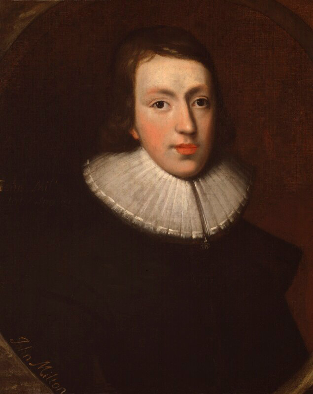 Portrait of John Milton, c 1629