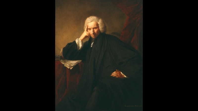 Portrait of Laurence Sterne, 1760